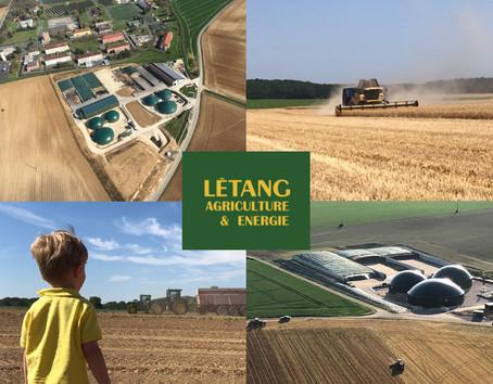 Visite des exploitations Létang Biogaz et Létang Biométhane