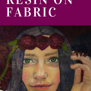 Fabric Art and Resin