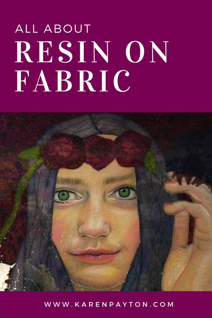 how to resin fabric