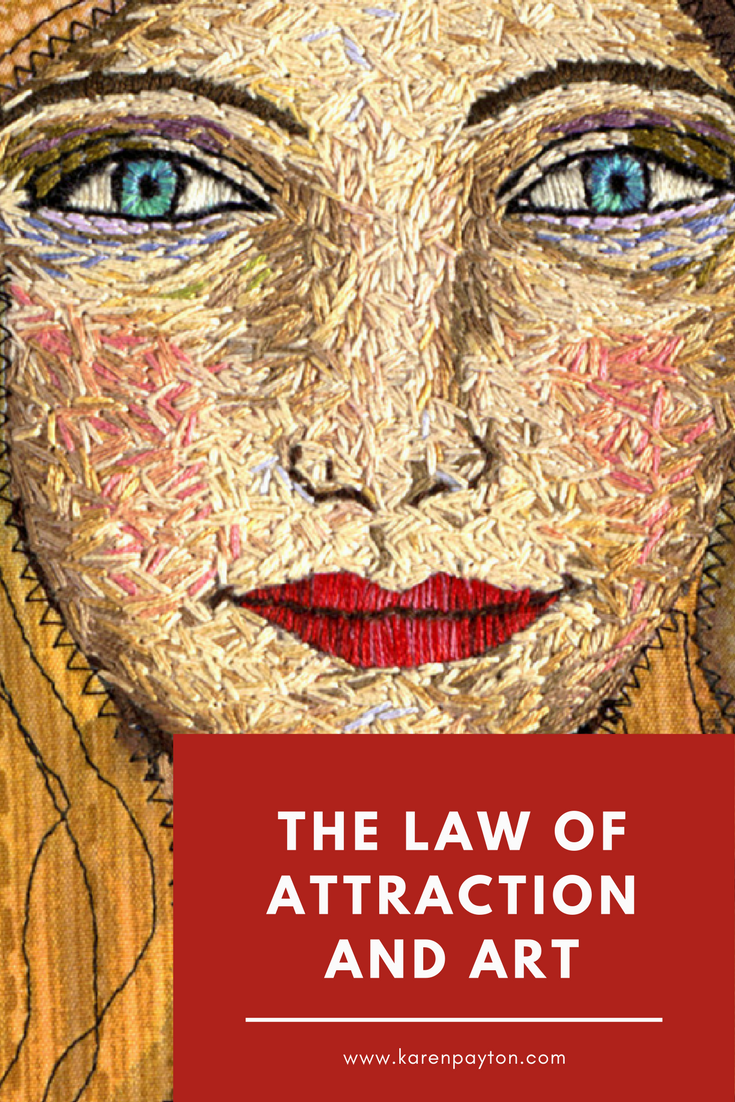 Law of attraction and art