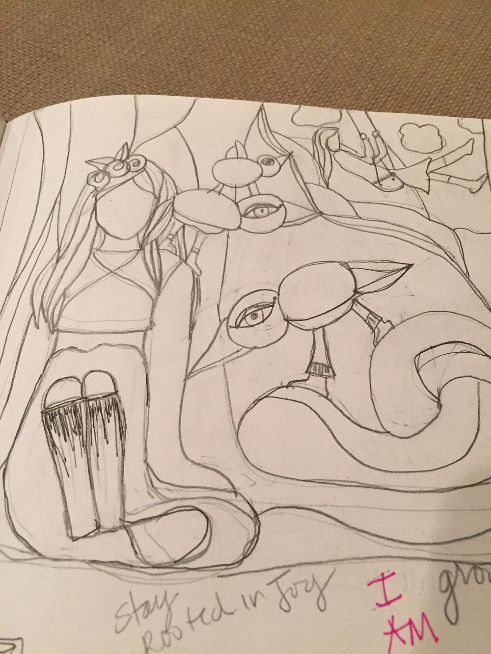 karen payton sketch