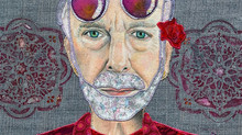 Love is who we are: Krishna Das Fabric Portrait