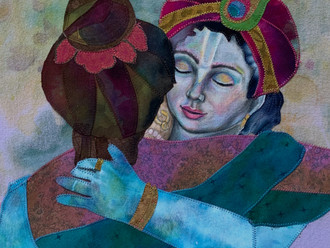 Krishna Devotee Art