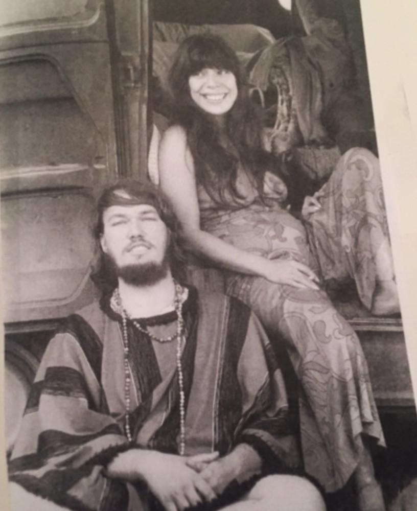 1960's hippie couple