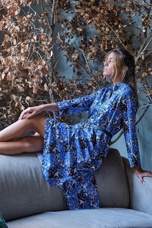 Vestido anil I Blue dress