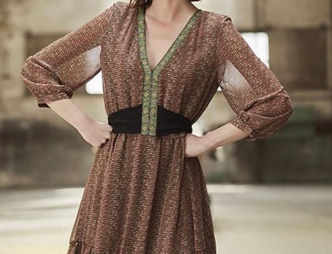 Vestido Boho Meisie | Meisie Boho dress