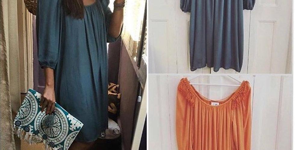 Vestido laranja SLUIZ IBIZA