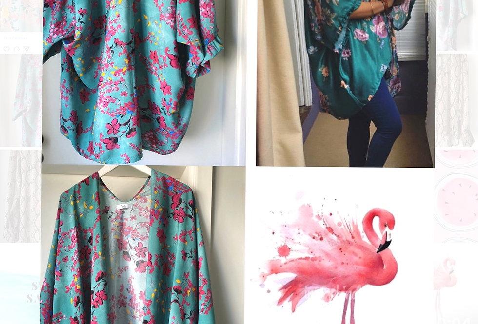 Kimono Flamingo Salt exclusive | Flamingo Salt exclusive kimono