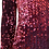 Thumbnail: Vestido lantejoulas burgungy Salt