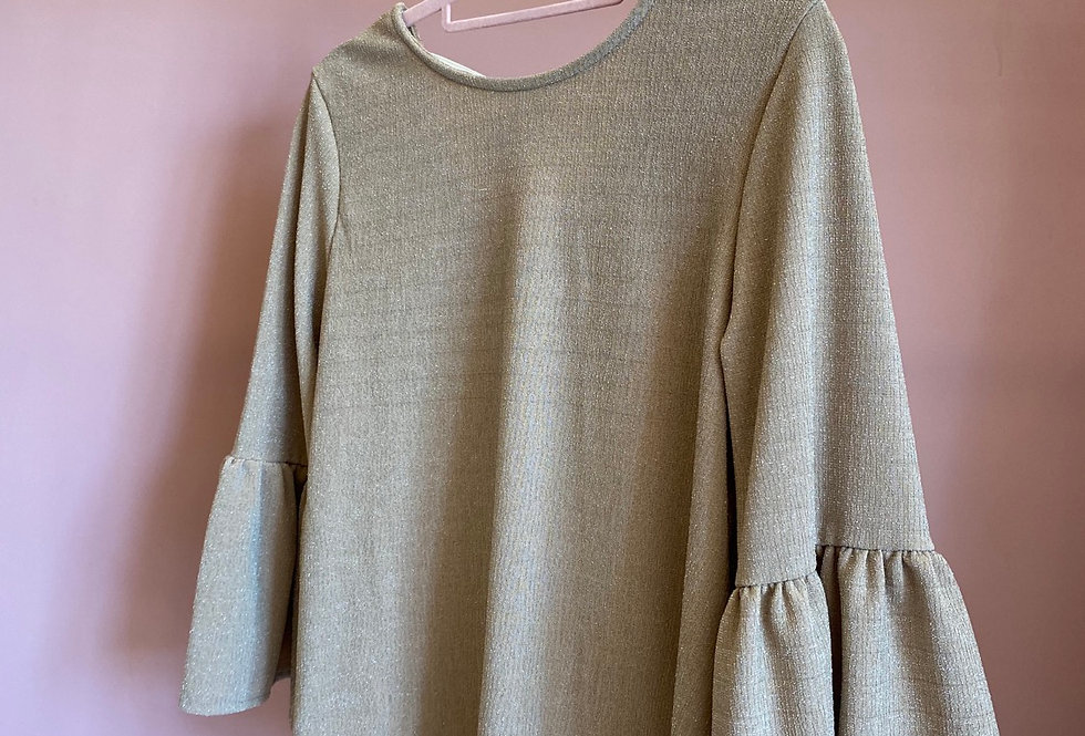 Camisola dourada lurex | Golden lurex Meisie sweater