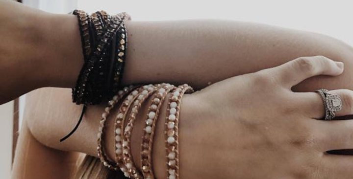 Pulseiras Wrap Salt | Salt handmade wrap bracelets