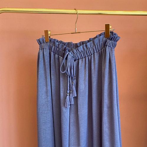 Saia anil Meisie | Blue Meisie skirt