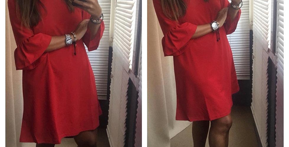 Vestido vermelho Salt | Salt red dress