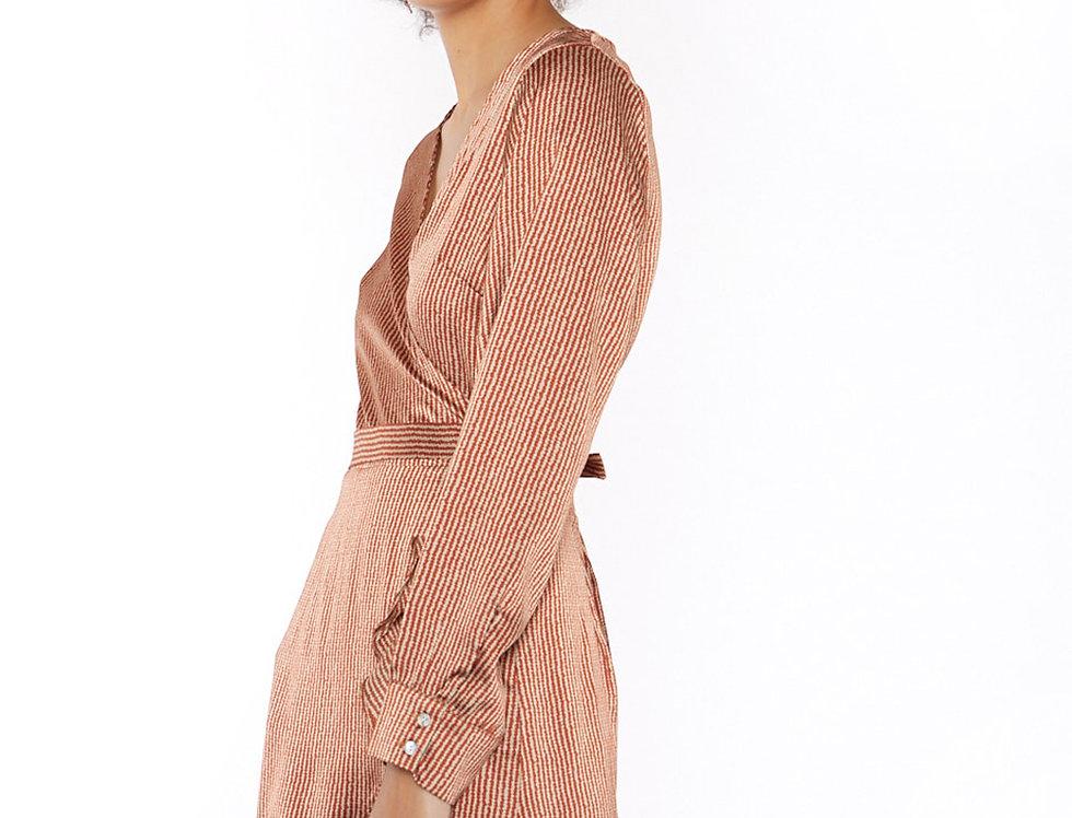 Vestido canela Meisie I Cinnamon Meisie dress