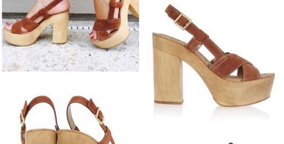 Sandálias camel Salt | Salt leather sandals