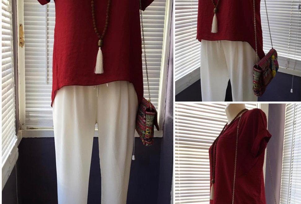 Blusa grilo vermelha Salt