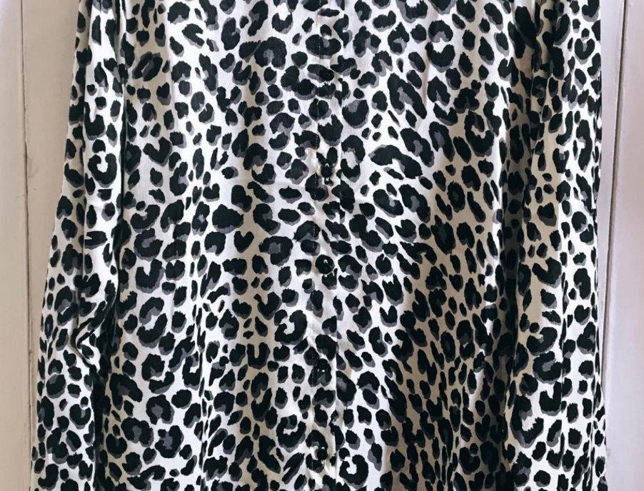Blusa animal print Salt | Salt animal print blouse