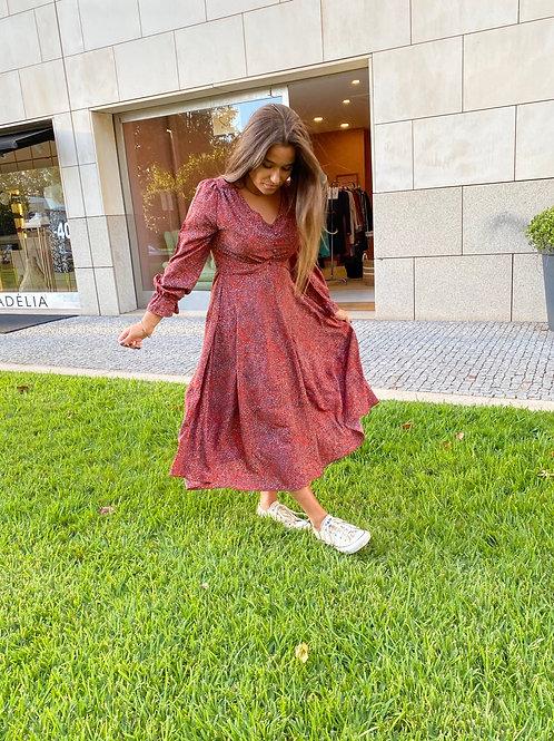 Vestido dots Meisie I Meisie dots print dress