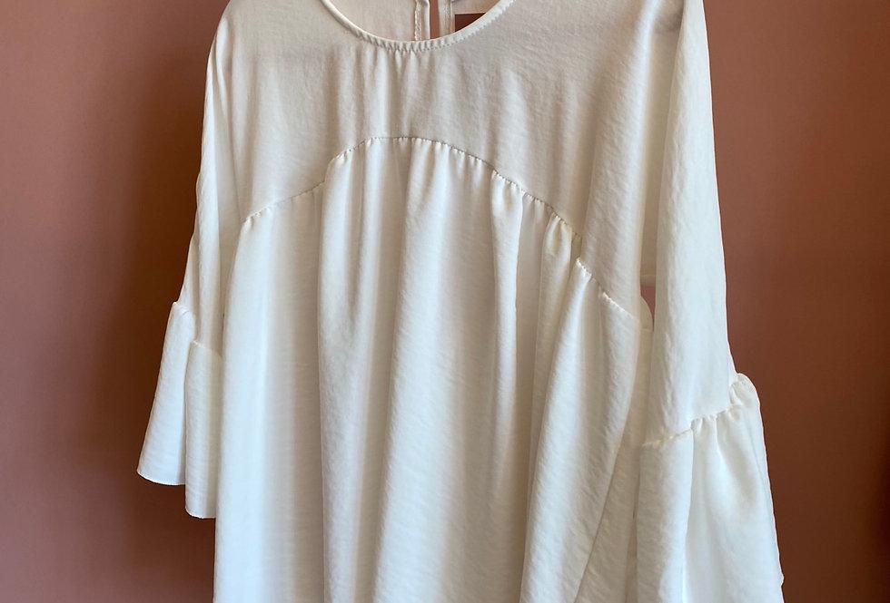 Blusa branca Salt | White Salt blouse