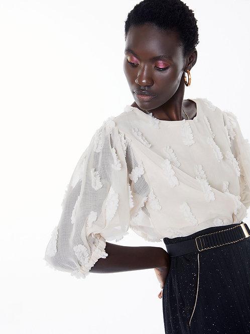 Blusa Puff Meisie I Meisie Puff sleeve blouse