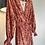 Thumbnail: Vestido camiseiro Rojo print Paisley Meisie