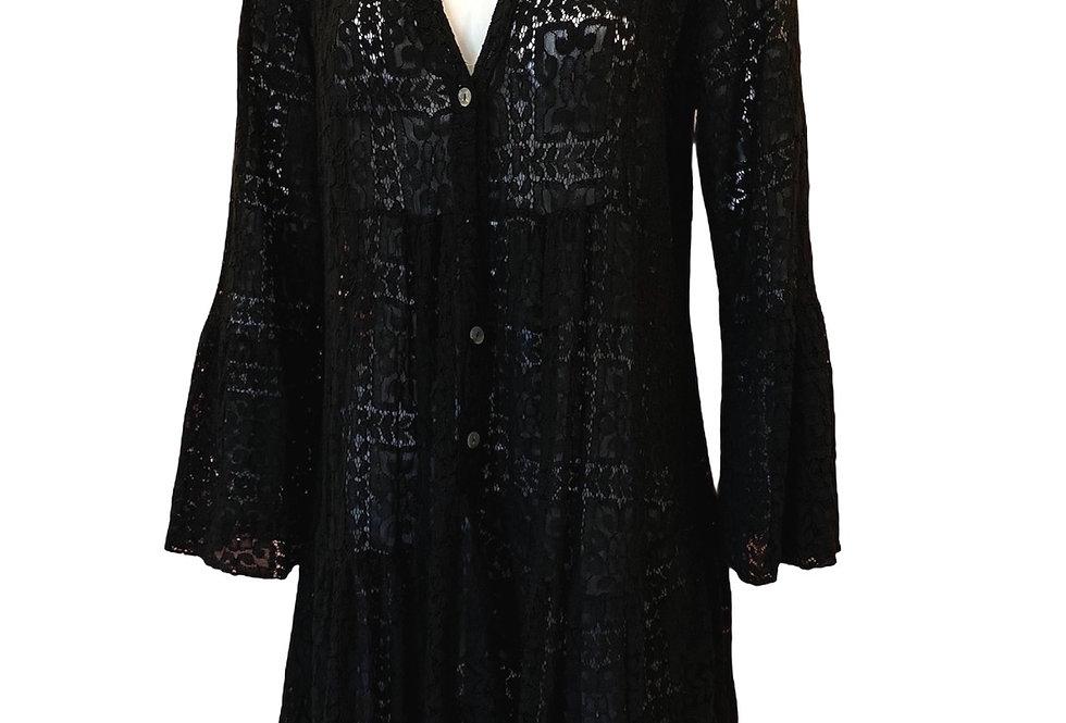 Vestido renda algodão