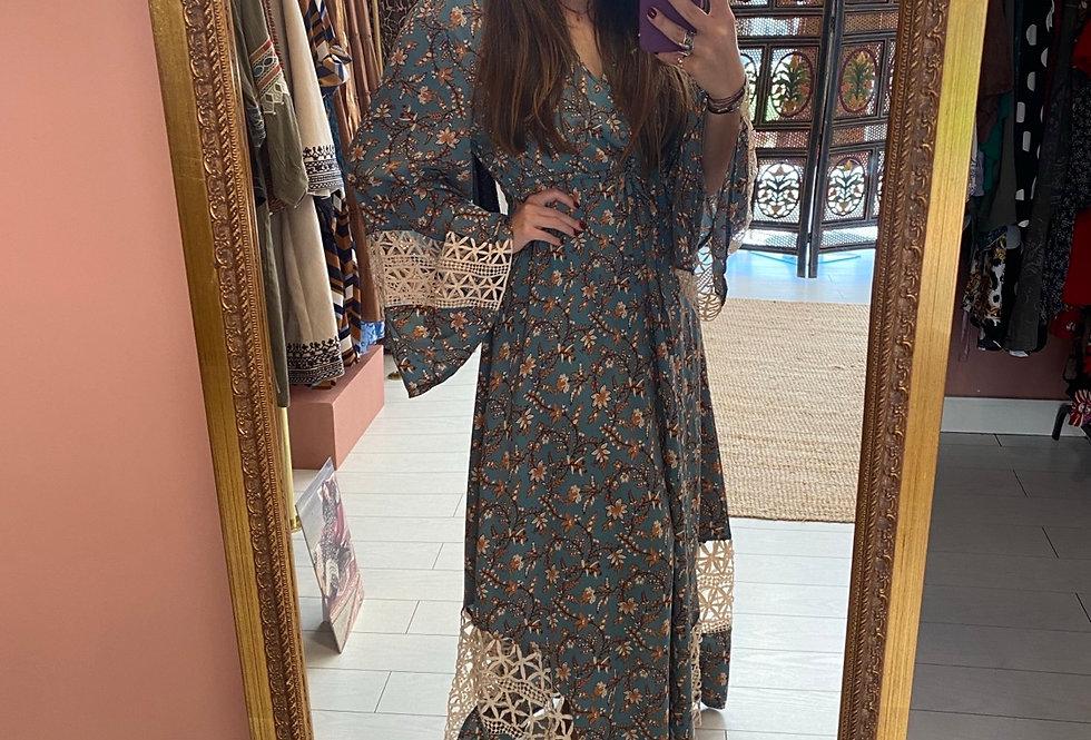 Vestido floral Meisie I Meisie floral dress