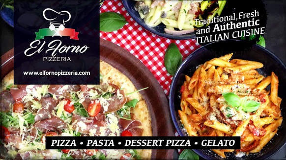 El Forno Pizzeria Cinema Advert