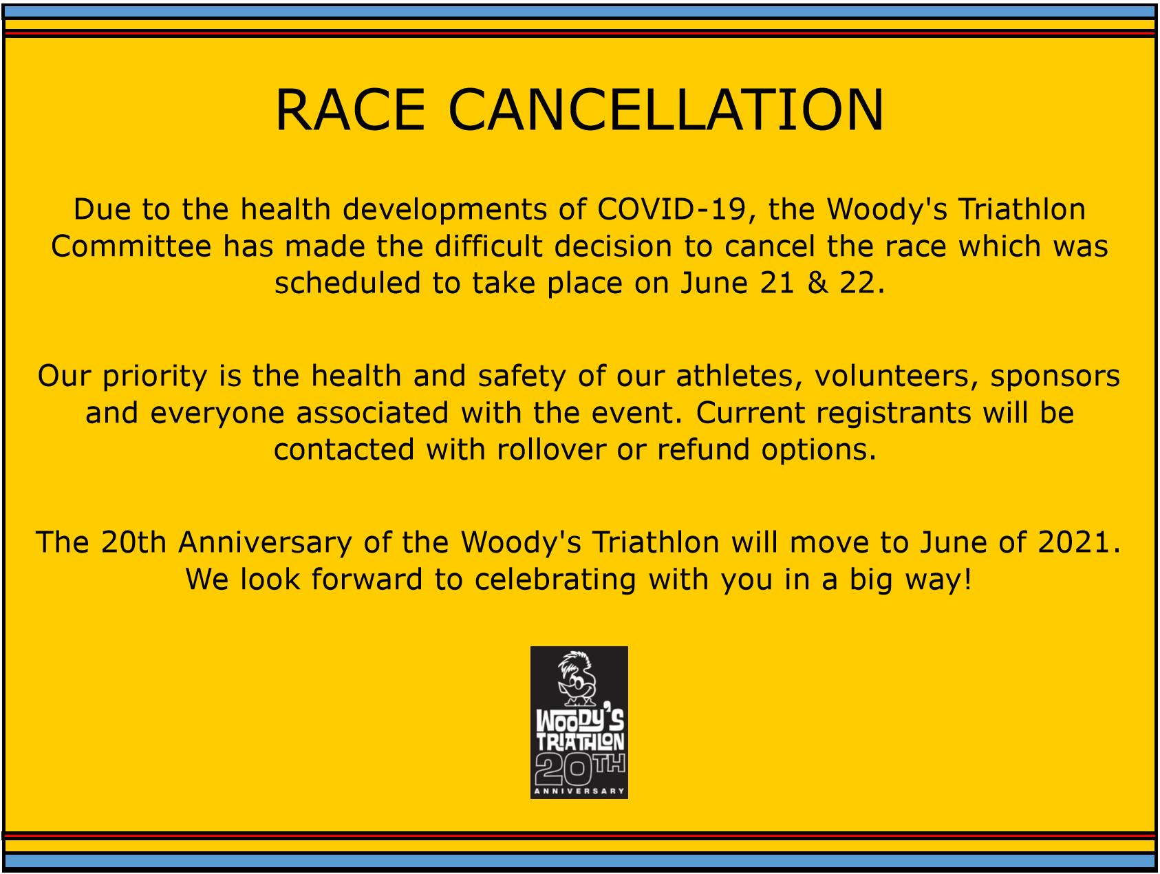 Race Cancellation
