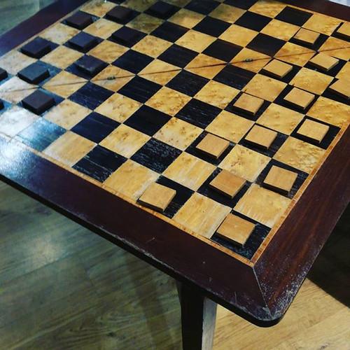 #tavolino#gioco#dama#anni70 #radica#cass