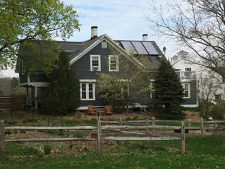 Eat Local. Heat Local. Codman Farm Installs Solar Hot Water