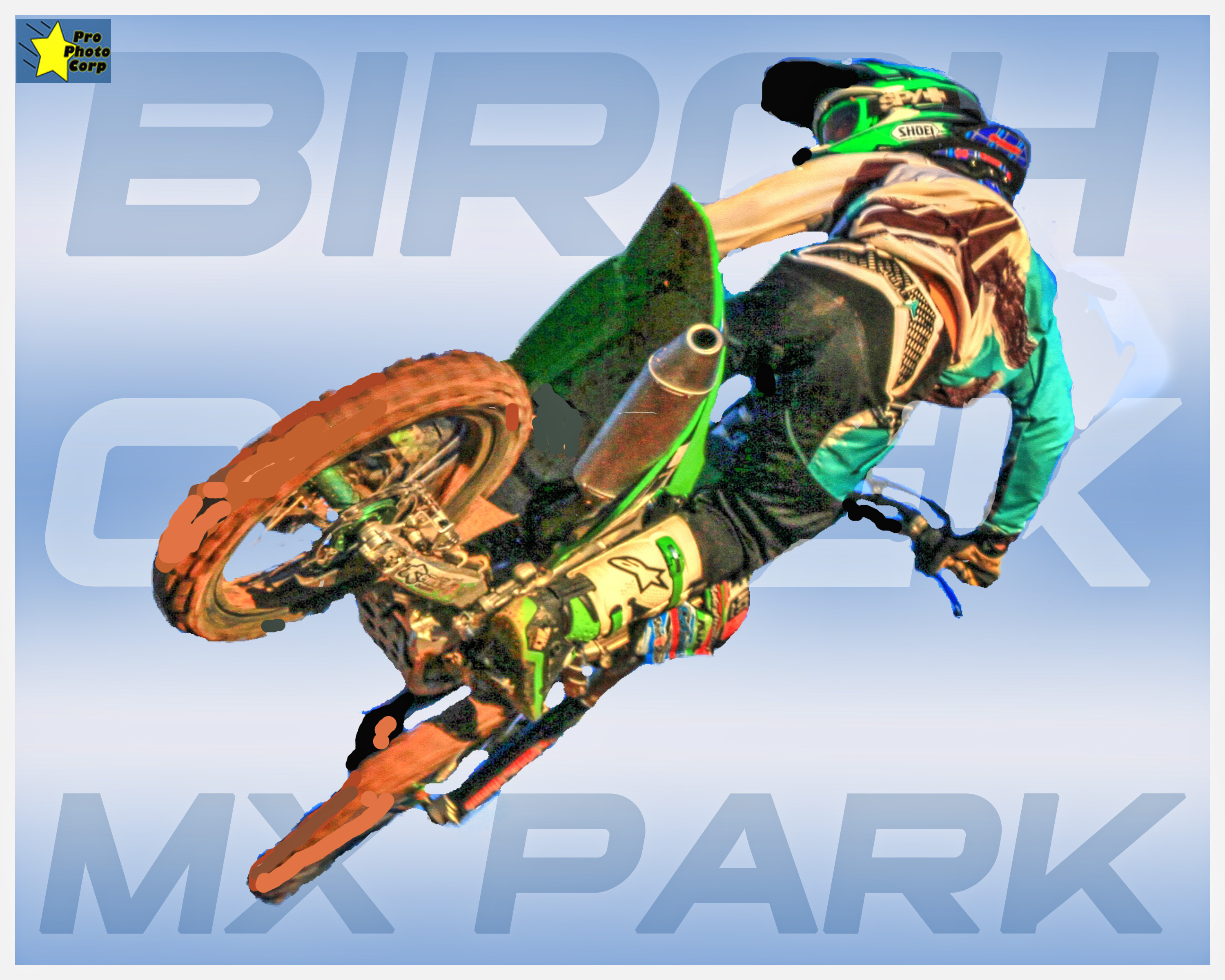 Birch Creek MX Park poster