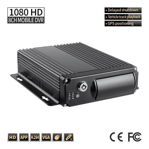 FP 1080 AHD GPS Mobile DVR 8CH 256G SD Card Loop Vedio,G-sensor PC Playback