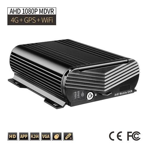 FP 4CH Hard Disk DVR 1080P DVR PC/Phone Remote Monitor GPS G-sensor 2TB Cycle