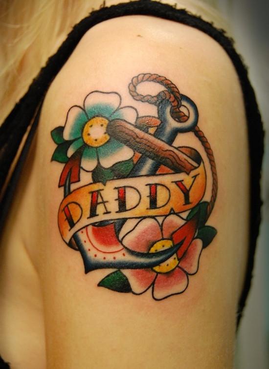 Resultado de imagem para tatuagens em homenagem ao pai