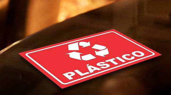 Placa PVC Reciclagem Plástico
