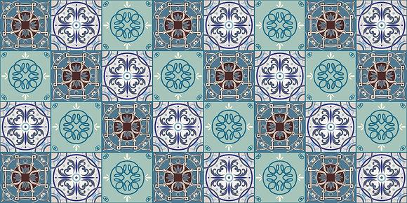 Adesivo Azulejo Português 22
