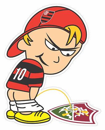 Adesivo Times - Mijão Flamengo RJ 2