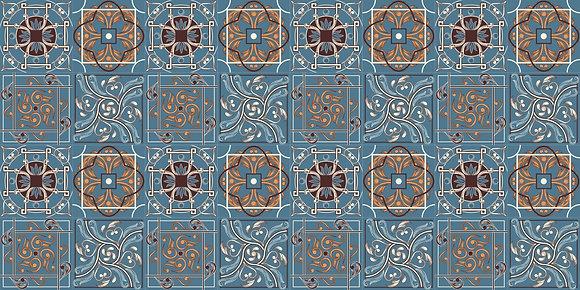 Adesivo Azulejo Português 10