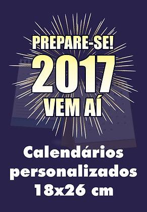 Calendários do Ano - Folhinha 100 un.