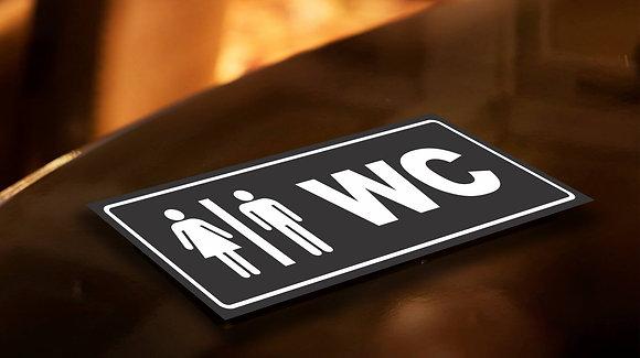 Placa PVC Banheiro 2