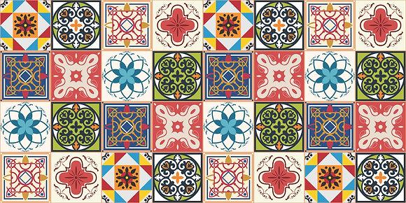 Adesivo Azulejo Português 03