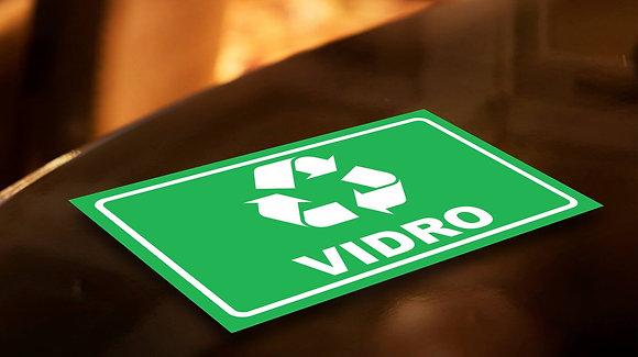 Placa PVC Reciclagem Vidro