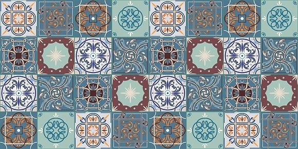 Adesivo Azulejo Português 02
