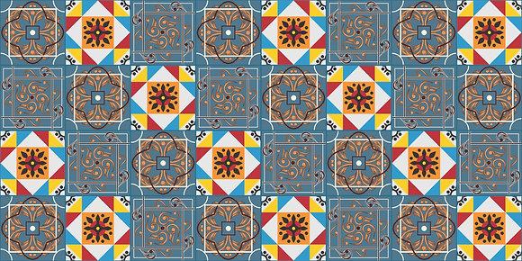Adesivo Azulejo Português 24