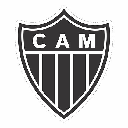 Adesivo Times - Atlético MG