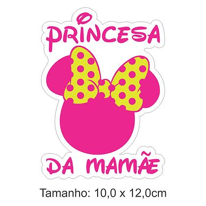 Adesivo Princesa da Mamãe