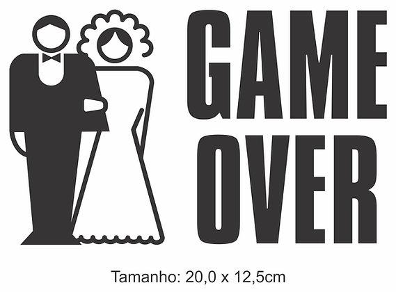 Adesivo Game Over