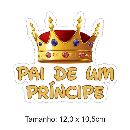 Adesivo Pai de Príncipe