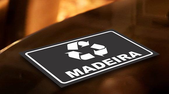 Placa PVC Reciclagem Madeira